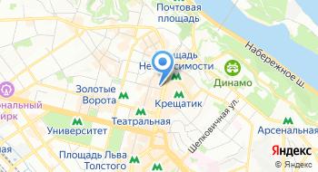 Сервисный центр №1 в Киеве на карте