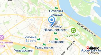 Хостел City Centre на карте
