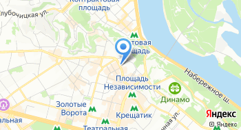 Кафе Friends and family на карте