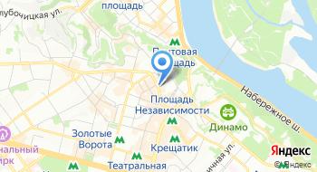 АН Киевская недвижимость на карте