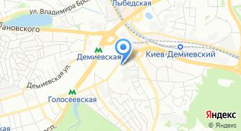 Украинская торговая компания Гермес на карте