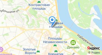 Киевская православная Богословская академия на карте
