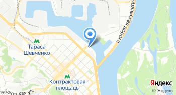 Компания Nestle Украина Центральный офис на карте