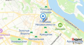 Отель Козацкий на карте