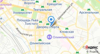 Визовый центр консульства Чешской Республики на карте