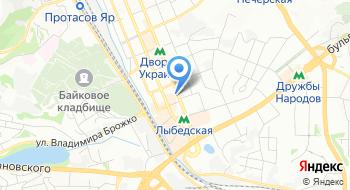 Центр сертификации ключей Украина на карте