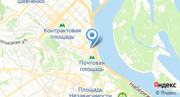 Институт местного развития на карте