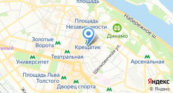 Дом моды Bevza на карте
