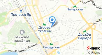 Прокуратура города Киева на карте