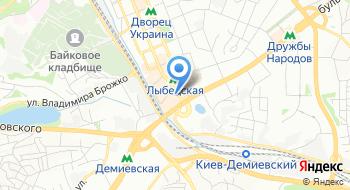 Украинский институт научно-технической и экономической информации Отделение информационных ресурсов на карте