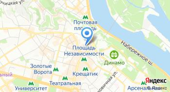 Объединение совладельцев многоквартирного дома Костёльная 8 на карте