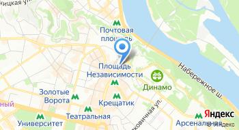 Хостел TIU Kreschatik на карте
