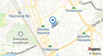 Департамент автоматизированных систем ПАО Укразализныца на карте