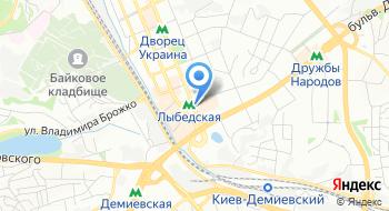 Евролизинг Украина на карте