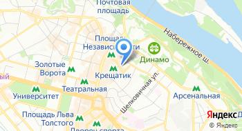 Компания Агора Групп на карте