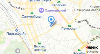 Киевская городская клиническая больница №17 на карте