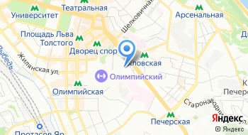 Центральная военно-врачебная комиссия Минобороны Украины на карте