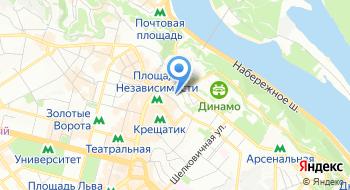 Международный центр культуры и искусств профсоюзов Украины на карте