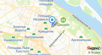 Украинское агентство финансового развития на карте