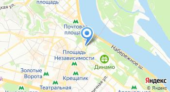 Дирекция Центрального парка культуры и отдыха города Киева на карте
