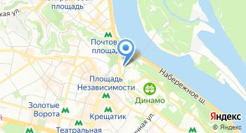Национальный академический духовой оркестр Украины на карте