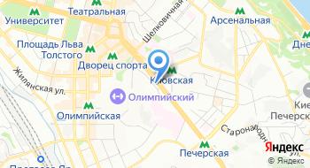 Супермаркет Смачный на карте