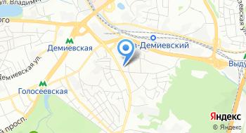 КП в Голосеевском районе г. Киева Расчетный центр Голосеево на карте