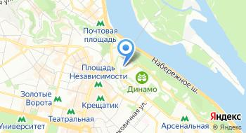 Киевский академический театр кукол на карте