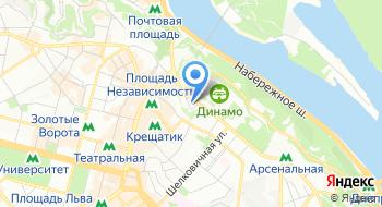 Национальный художественный музей Украины на карте