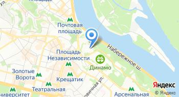 КП Водно-информационный центр на карте