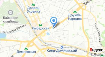 Сафари Украина на карте