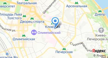 Управление государственной казначейской службы в Печерском районе г. Киева на карте