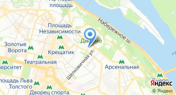 Компания Киев Песок на карте