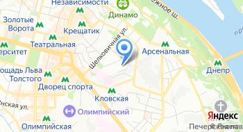 Департамент коммуникации национальной полиции Украины на карте
