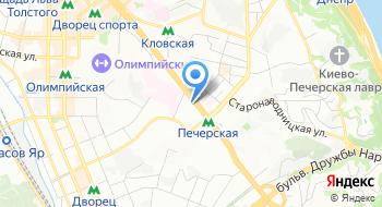 Центральная украинская биржа на карте