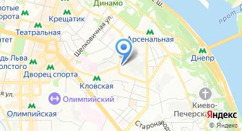 Компания ДиПи Эйр Газ Киевский филиал на карте