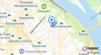 Детский фонд Организации Объединённых Наций UNICEF в Украине на карте