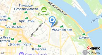 Центр безопасности дорожного движения и автоматизированных систем при МВД Украины на карте