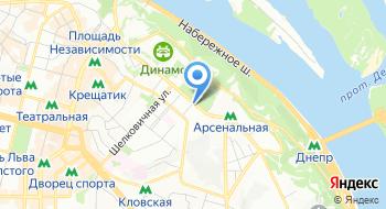 Центральный дом офицеров вооруженных сил Украины на карте