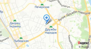 Гидростроитель, офис на карте
