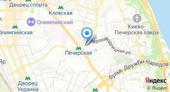 Главное управление Государственной казначейской службы Украины в Киевской области на карте