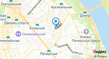 Генеральная прокуратура Украины на карте
