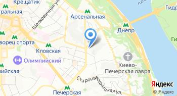 Отдел по вопросам регистрации местожительства  пребывания физических лиц Печерской РГА на карте