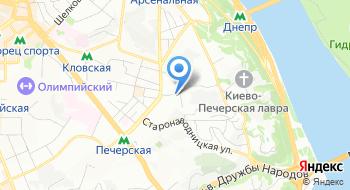 ЗАГС Печерского районного управления юстиции г. Киева на карте