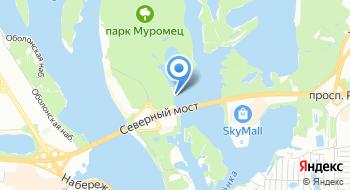 Пейнтбольный клуб X-park на карте