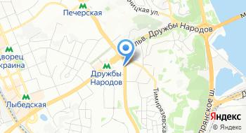Отдел Печерского Управления полиции Главного управления Национальной полиции в г. Киеве на карте