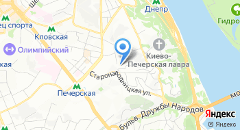 Украинский центр стального строительства на карте