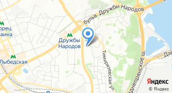 Клиника Ветпомощь на Печерске на карте
