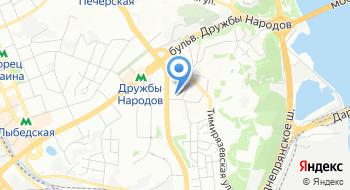 КНП ЦПМСП Печерского района г. Киева Амбулатория №6 на карте