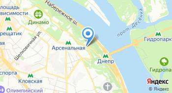 Аскольдова могила на карте